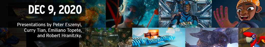 Watch the The 3D and Motion Design Show - December 9, 2020 presentations