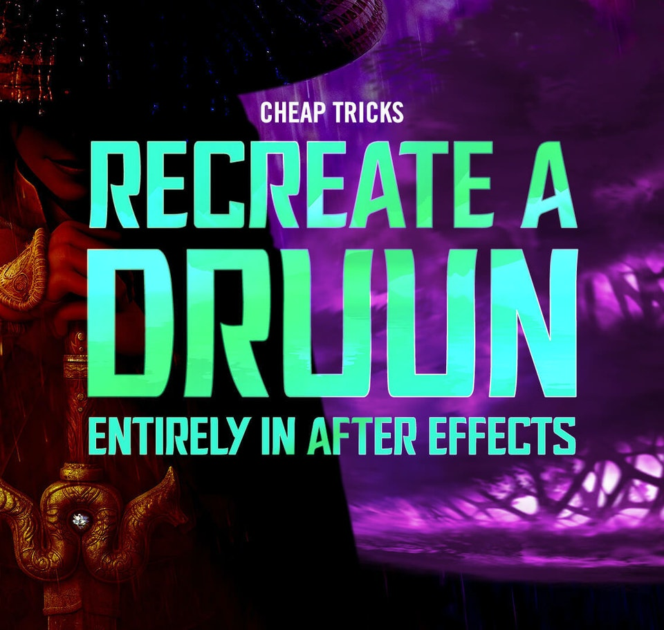 New Cheap Tricks! Recreate the Druun from Raya and the Last Dragon image