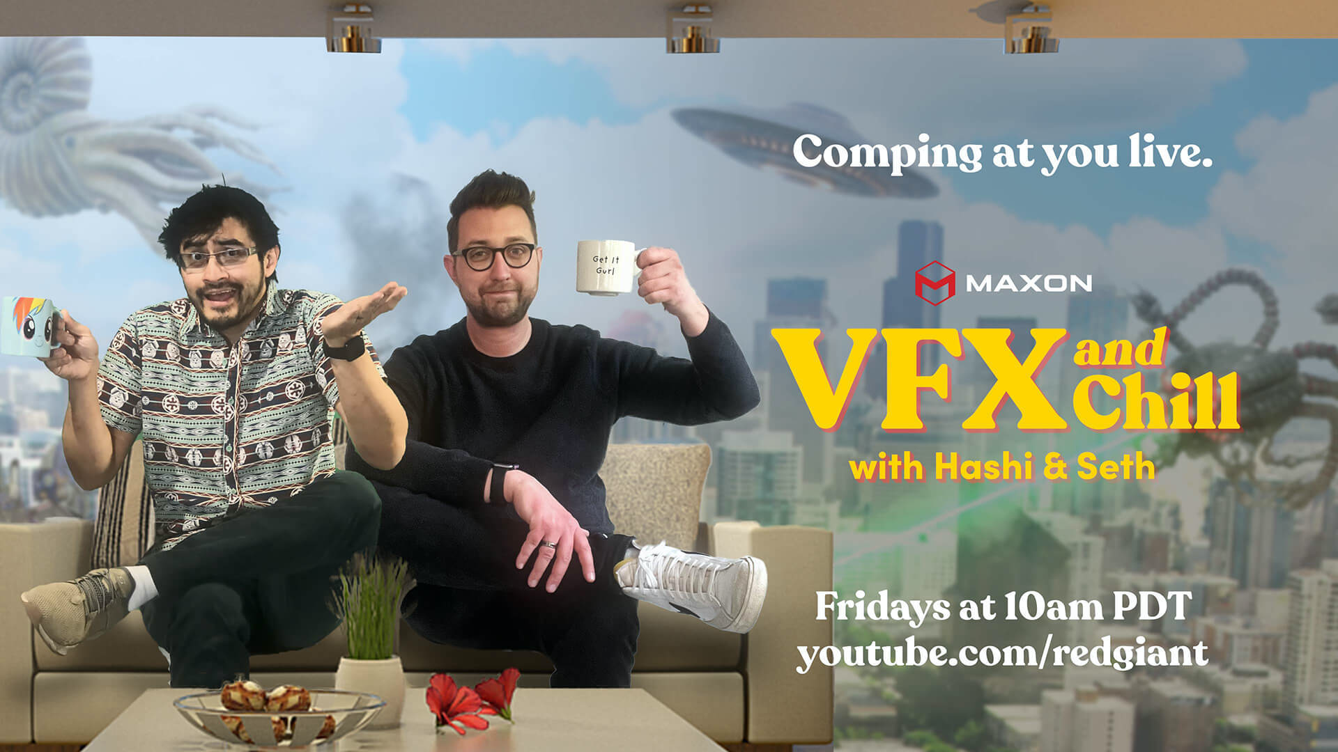 Weekly Live Talk Show Focused on VFX image