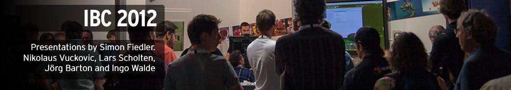 Watch the IBC 2012 presentations